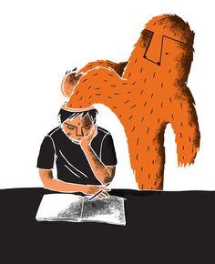 Monster brain #illustration #print