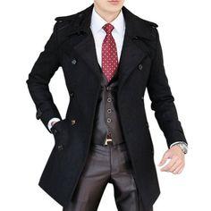 Hee Grand Men's Double Breasted Wool Overcoat With Belt Hee Grand, http://www.amazon.co.uk/dp/B00EDFT82E/ref=cm_sw_r_pi_dp_PKXpsb0RPF54Q