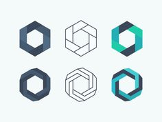 Image result for a logo hexagon