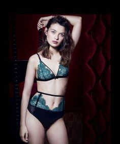 Sensible Agent Provocateur Black Lace Denver Suspender Nwot Size 3 Garter Belts Fine Craftsmanship