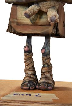 Animation Art:Puppet, The Boxtrolls Fish Original Animation Puppet (LAIKA,2014)...