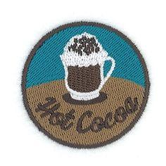 Hot Cocoa Circle Mini   What's New   Machine Embroidery Designs   SWAKembroidery.com Starbird Stock Designs