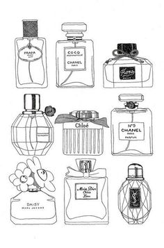I love how so many of my FAVS are on here. Miss Dior Cherie, Chanel No. 5, Chloe, Marc Jacob's Daisy. Best scents ever.