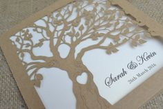 Hey, I found this really awesome Etsy listing at https://www.etsy.com/listing/255504425/laser-cut-invitation-rustic-wedding