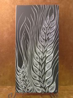 """barley "" carved relief out of black slate by Kathy Vinson – woodworkingstatue Stone Carving, Wood Carving, Dremel, Slate Art, Lino Art, Tile Crafts, Wood Engraving, Linocut Prints, Gravure"