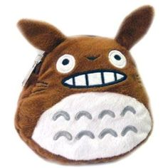 Totoro: 5-inch Plush Mobile Bag - BROWN * Click image to review more details. (This is an affiliate link) #StuffedAnimalsPlushToys