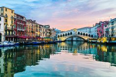 Photograph Sunrise at the Rialto Bridge by Michael Abid on 500px