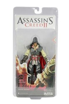 Cool ! Assassin's Creed Ezio Master Assassin 19cm PVC Model Toys Action Figure Collection For Christmas Gifts #AC010