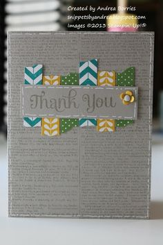 You could use actual newsprint for the background of this card if you wanted too. It would work beautifully with our Washi Wonder stamp set & in any colour combo (to suit your recipient).
