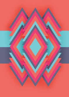Argyle - Geometric pattern by Jason Quilang, via Behance