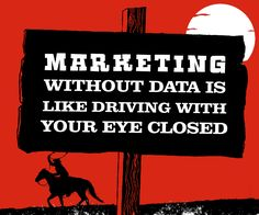 Marketing without data is like driving with your eye closed. Marketing Videos, Video Production, Eye, Movie Posters, Film Poster, Billboard, Film Posters