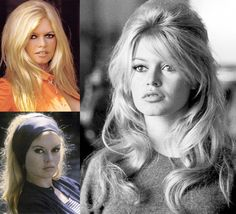 Brigette Bardot classic sex kitten hair inspiration