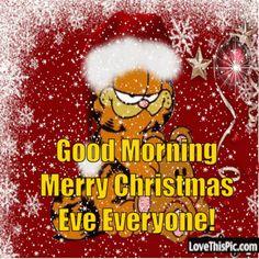 Good Morning Merry Christmas GIF - GoodMorning MerryChristmas ChristmasEve - Discover & Share GIFs