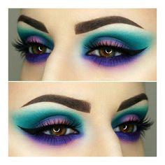 Eye Makeup Ideas for 2018 50 + Augen Make-up Ideen für 2018 Makeup Goals, Love Makeup, Makeup Inspo, Makeup Inspiration, Makeup Tips, Makeup Ideas, Makeup Art, Makeup Drawing, Crazy Makeup
