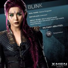 Blink was awesome in X-Men: Days of Future Past!