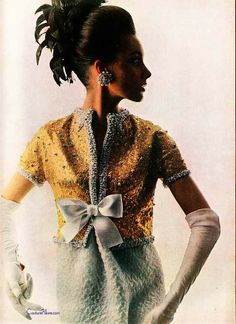 Couture Allure Vintage Fashion: Diana Vreeland Puts St. Laurent on the Cover of Vogue - 1963