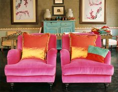 Doppelt schöne Sessel