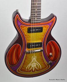 Collings 2013 NAMM Art Guitar, 290, Custom Paintjob, | Reverb