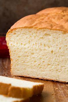 Gluten-Free Bread - GF white bread that doesn't taste like styrofoam? Hmm. I'm willing to try it! Looks tasty.