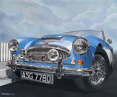 Austin Healey MkIII 3000 by Frans Hendriks