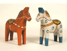 Antique-style Dala Horses