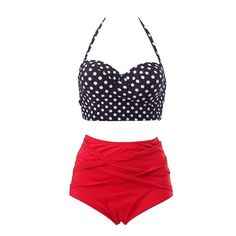 Item Type: Bikinis Set Pattern Type: Dot Waist: High Waist Gender: Women Material: Polyester Material: Spandex Support Type: Wire Free With Pad: Yes Model Number: SJ3190A0 Style: Vintage Sexy High Waist Bikinis Set Condition: New With Tags Size: S, M, L, XL Occasion: Beach,Party,Causal Daily, Sunbathing Feature: High Waist Design Published: 2015 Summer Latest Design Age: Adult is_customized: Yes Color Style: Natural Color