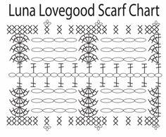 Harry Potter - Luna Lovegood Scarf - PATTERN & CHART ADDED! - CROCHET