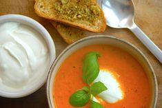 Tomatsuppe - italiensk opskrift på suppe med tomater via @madensverden