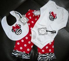 Adorable baby Disney set