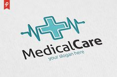 Medical Care Logo by ft.studio on @creativemarket
