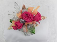 Beautifly! Roses, ribbons, rhinestones and a keepsake bracelet so you can remember your prom night!