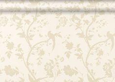 Laura Ashley Oriental Garden Gold/Off White Floral Wallpaper