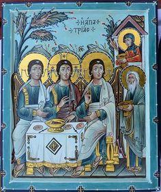 Hospitality of Abraham. (A. Davydov)