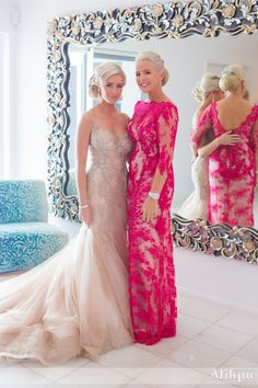 Mother and #bride #dresses by MXM Couture