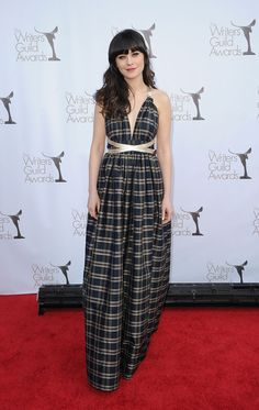 This dress has my heart. I don't know why. It just does.    It's probably because I love Zooey so much...