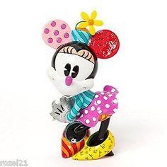 Disney Britto 4038472 Retro Minne Mouse Figurine NEW 2014
