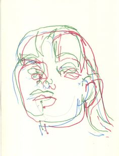 Ana Kennerly. RGB. Blind drawing. 2014.
