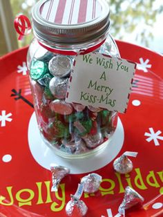 Quick Christmas Gift - secret santa gift - neighbor gift http://kidpep.com/blog/quick-christmas-gift-idea/                                                                                                                                                                                 More