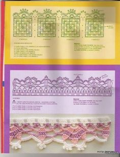 Free crochet pattern Pictorial instructions edging crochet magazine | make handmade, crochet, craft