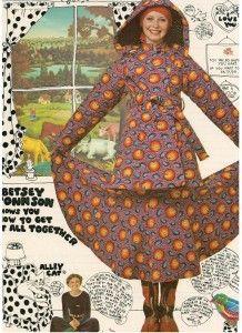 Finnfemme Blog: Betsey Johnson - Alley Cat, Vintage 1971