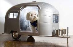 Airstream dog bed