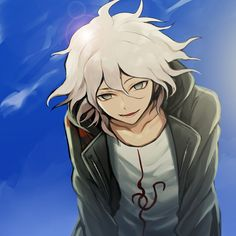 Image discovered by PandaPanda. Find images and videos about monochrome, danganronpa and on We Heart It - the app to get lost in what you love. Danganronpa 3, Danganronpa Characters, Yandere Boy, You Are My Friend, Nagito Komaeda, A New Hope, Hinata, How To Fall Asleep, Anime Art