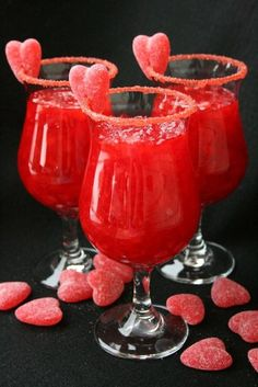 Red Hot Valentine - 15 Amorous Valentine's Day Cocktails | GleamItUp