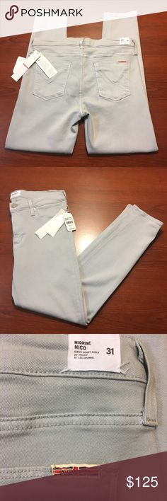 Hudson Nico Skinny Jeans Grey, new with tags. A little stretchy. Hudson Jeans Jeans Skinny