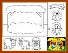 Printable Nativity Coloring Sheets