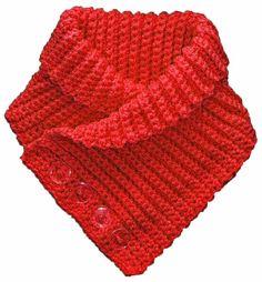 Buttoned Neck Warmer Scarflette Crochet Pattern Instructions PDF - Buttoned Neck Warmer Scarflette Crochet Pattern by mohrra on Etsy Estás en el lugar correcto para d - Diy Crochet, Crochet Hooks, Knitting Patterns, Crochet Patterns, Crochet Neck Warmer, Cowl Scarf, Cowl Neck, Shawl, Vintage Crafts