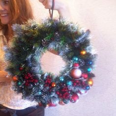 Beautiful Christmas wreath!