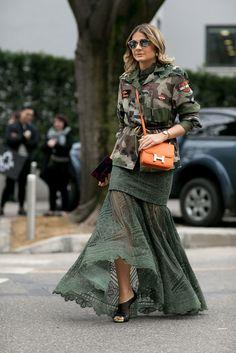 The Best of Milan Fashion Week Street Style 2015 Street Chic, Best Street Style, Milan Fashion Week Street Style, Autumn Street Style, Cool Street Fashion, Look Fashion, Autumn Fashion, Fashion Outfits, Fashion 2018