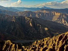 Sunset near Tupiza Bolivia.