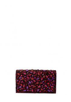 BE JEWELED CLUTCH - PURPLE COMBO   http://www.aliceandolivia.com/be-jeweled-clutch-purple-combo-1.html